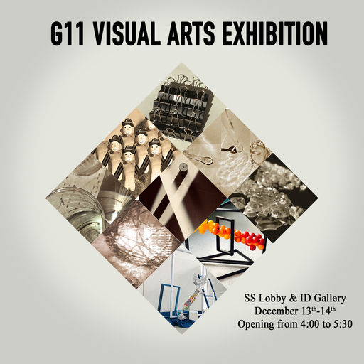 Grade 11 Visual Arts Exhibition