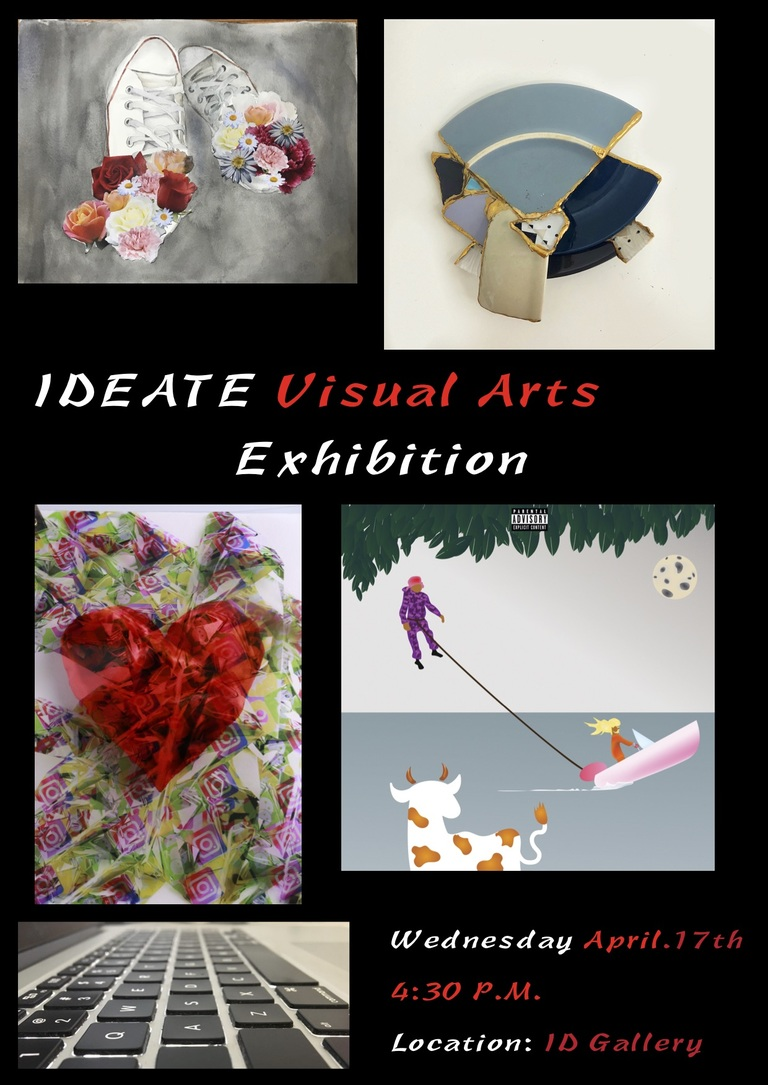G12 IDEATE Visual Art Exhibition 2019