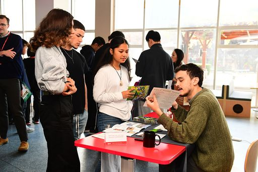 Linden College Fair Comes to BCIS